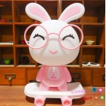 Rabbit Wih Skateboard Night Lamp